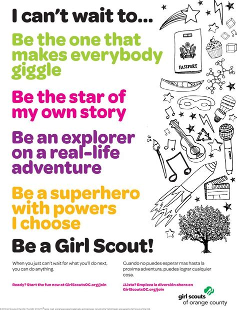 girl scout templates for flyers 17 best images about on my honor on pinterest scouts