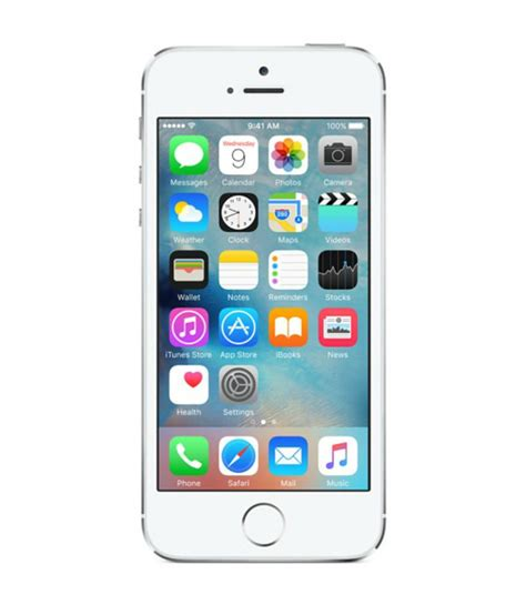 Iphone Apple 5s apple iphone 5s 16gb silver mobile smartphone 885909727995 ebay