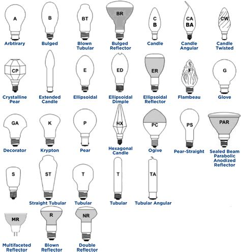 Light Bulb Socket Sizes Chart by Light Bulbs Sizes 28 Images How To Hang Lights On Gutters Bulb Socket Size Comparison Guide