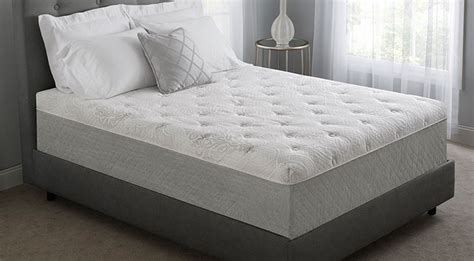 novaform 174 serafina pearl gel memory foam mattress