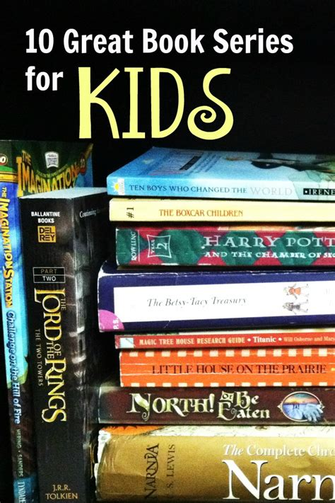 10 great book series for for read alouds as