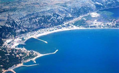 albania beaches on the adriatic sea