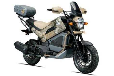 yeni honda navi iki farkli versiyonla geliyor motorcularcom