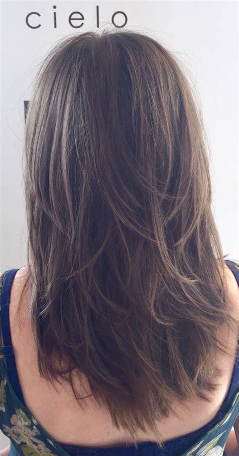 messy toward face hair cut messy shag layers modern shag haircut short layers