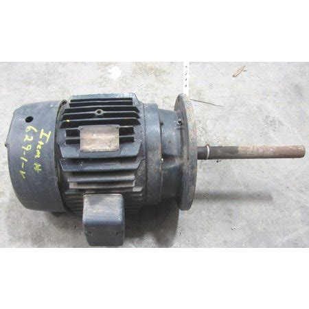 induction motor general electric used 7 5hp general electric induction motor 256y frame 1170 rpm