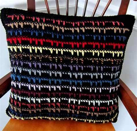 Pattern Pillows by 27 Easy Crochet Pillow Patterns Guide Patterns