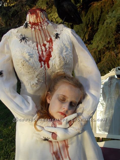 haunting headless bride costume    year  girl