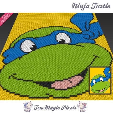 crochet pattern ninja turtle blanket ninja turtle crochet blanket pattern twomagicpixels