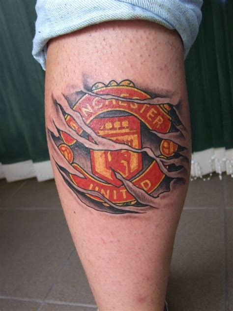 manchester united fc tattoo manchesterunited tattoo