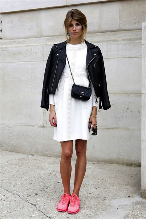 dress sneaker how to wear sneakers with dresses 2018