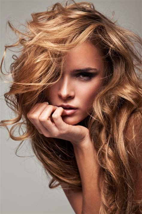 pictures of copper colored hair copper highlights on blonde hair hairstyles pinterest