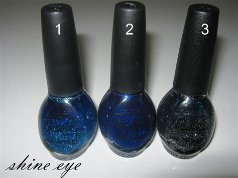 Js Shine Navy shine eye s shiny nails my collection opi