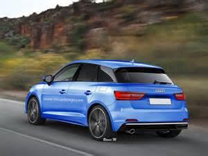 Audi Ai 2018 Audi A1 Rendering Seems To Combine Recent Spyshots