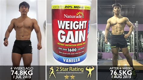 Richie Need Help On Weight Gain by Naturade Weight Gain Instant Nutrition Drink Mix