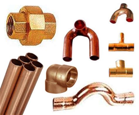 Copper Plumbing Fittings Catalogue by Copper Fittings Exporter Manufacturer Supplier From India