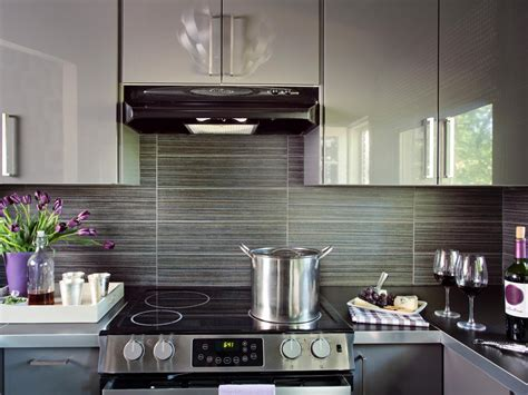 Metallic Kitchen Cabinets Kitchen Backsplash Ideas To Decorate Your Kitchen