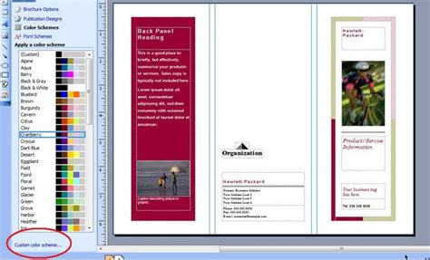 Brochure Templates Microsoft Publisher Csoforum Info Microsoft Publisher Brochure Templates