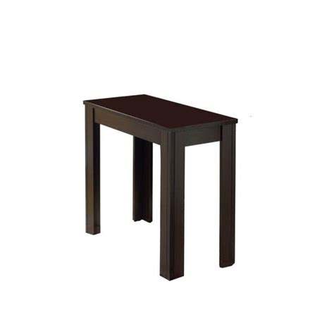 Accent End Table Accent End Table In Cappuccino I 3111