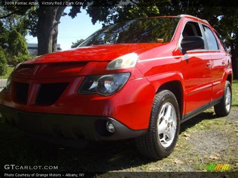 pontiac aztek red 2004 pontiac aztek in victory red photo no 53888894