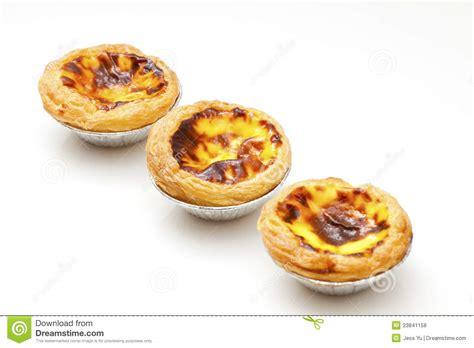 Pie Portuguese Egg Tart Egg Tart Pie Crispy Egg Tart portuguese egg stock photo image of flaky filed 23841158