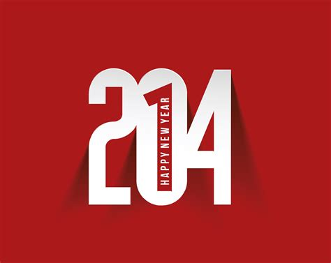 new year design logo creative 2014 new year design background set 05 vector
