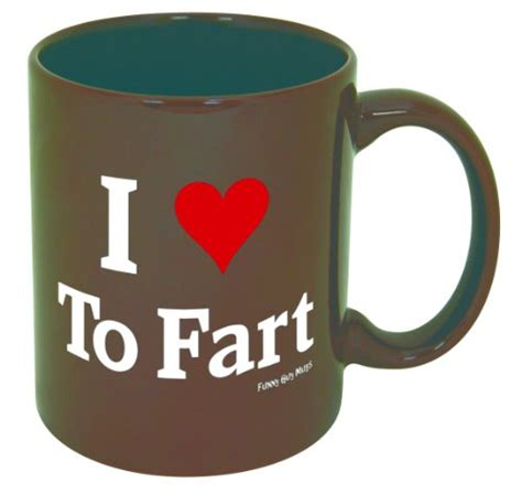 funny mug save 5 00 funny guy mugs i love to fart ceramic coffee
