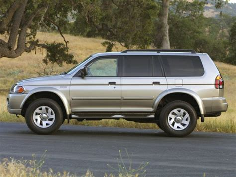 mitsubishi montero sport 2002 2002 mitsubishi montero sport reviews specs and prices