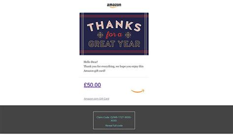 amazon free 163 50 gift card offer loyal customers warned over scam email tech