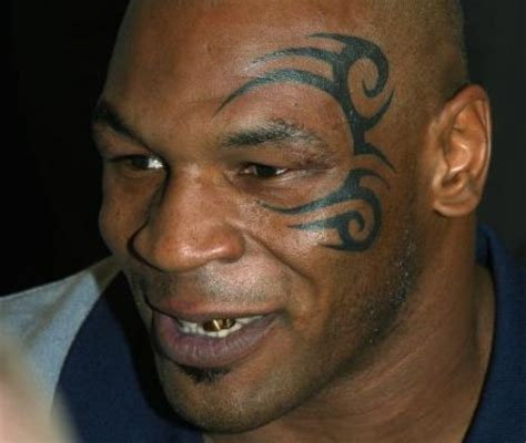 mike tyson face tattoo removed pin mike tyson on what you see is get cbs news