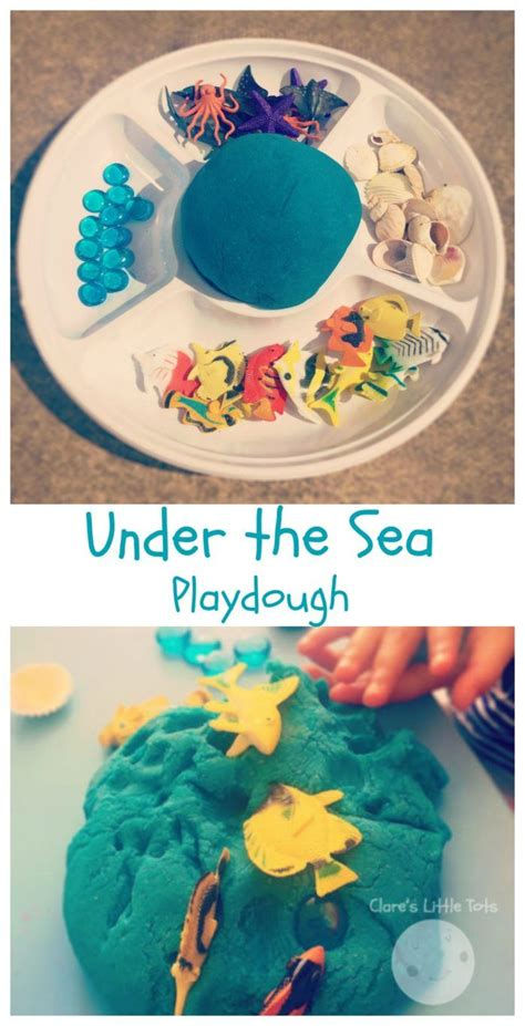 under water activity book 1783707704 under the sea playdough play ideas sensory play and ocean