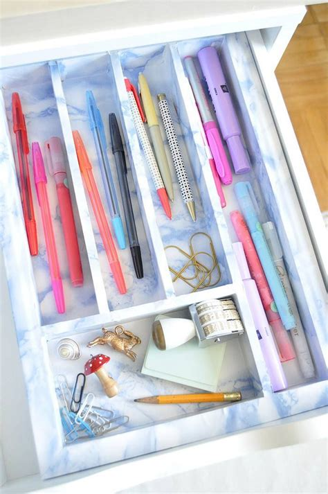 paper drawer organizer diy 17 best images about chic glam office supplies on