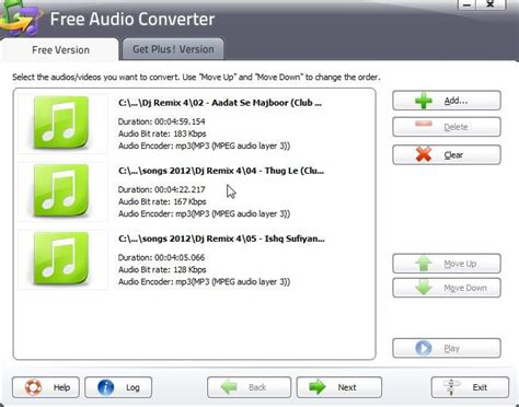 audio format converter software free download download free audio converter to convert different audio