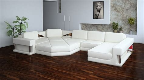 White Modern Sectional Sofa 2315 Modern White Leather Sectional Sofa Sectional Sofa Modern Sectional Sofas And Modern