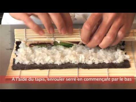 cuisiner des sushis recette japonaise maki california roll sur a vo