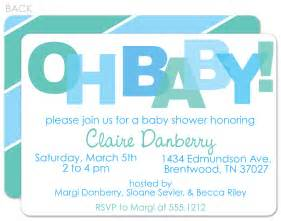 color baby shower invitation wording