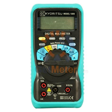 Multitester Kyoritsu kyoritsu 1009 digital multimeter details and price on getmeter