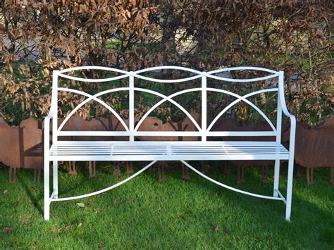 iron outdoor bench a regency wrought iron garden bench architectural heritage