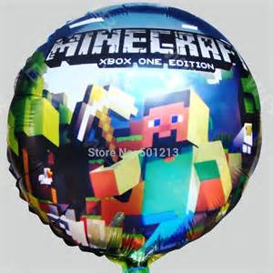 product minecraft foil balloon party