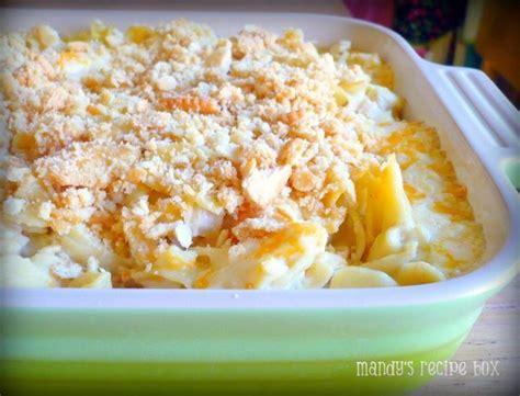 easy cheesy ritzy chicken casserole allfreecasserolerecipes com