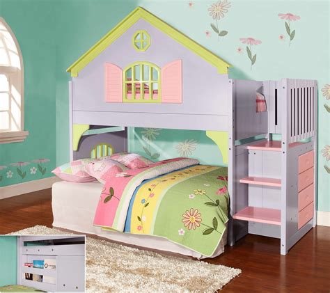 doll house beds discovery world furniture twin doll house loft beds with