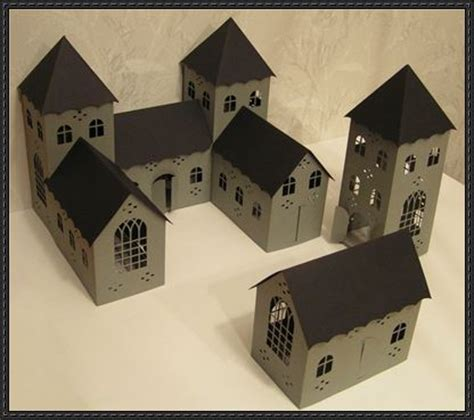 3d Papercraft Models Free - 3d castle free building paper model