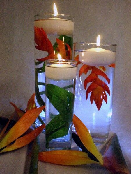 how to make a centerpiece with candles how to make floating candle centerpiece wedding