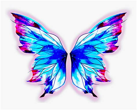 alas mariposa wings butterfly galaxy galaxia fairy