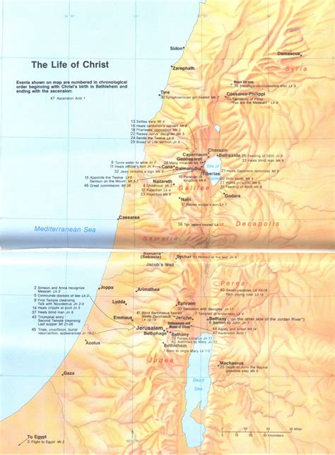 the study of maps maps update 26874214 map of jesus travels bible maps