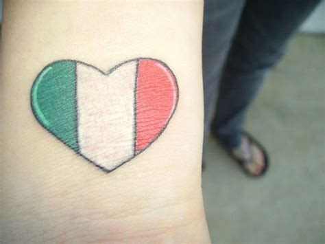 italian wrist tattoos simply with colors of italy tattooimages biz