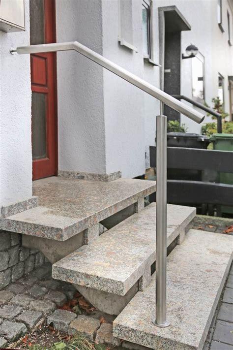 Treppenhandlauf Edelstahl by Edelstahl Treppenhandlauf Mit Einem Durchmesser 42 Mm