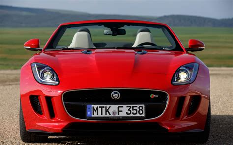 jaguar front 2014 jaguar f type first drive automobile magazine