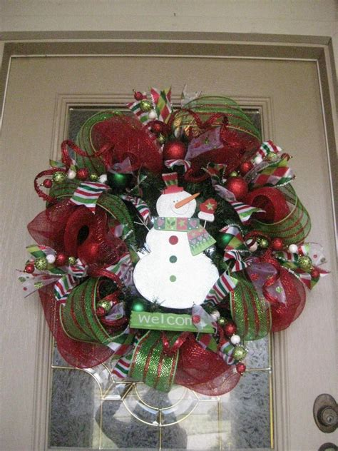 kristen s creations christmas mesh wreath tutorial