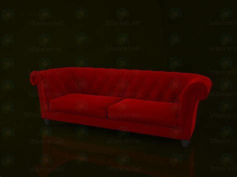 Chesterfield 3d Model Free