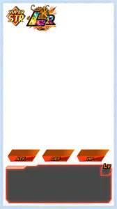 Battle Template by Dokkan Battle Templates Card Info By 345boneshoss